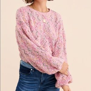 J.O.A. Boucle Sweater